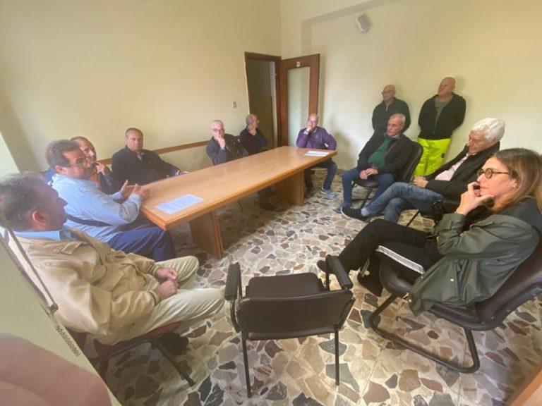 Incontro a Crotone con gli operai dell'ex Pertusola
