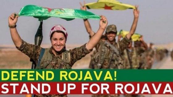 Erdogan e l'attacco alla Siria: io sto con i Curdi, eroi contro il terrorismo